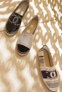 Chanel, espadrilles