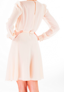 Robe nude Odysay, mode et luxe
