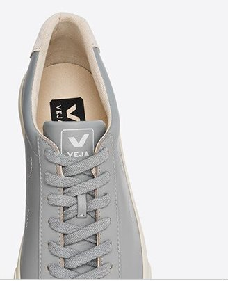 ESPLAR LEATHER OXFORD GREY